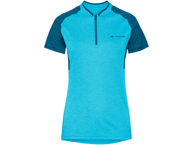 VAUDE Tamaro III Shirt Dame crystal blue/kingfisher
